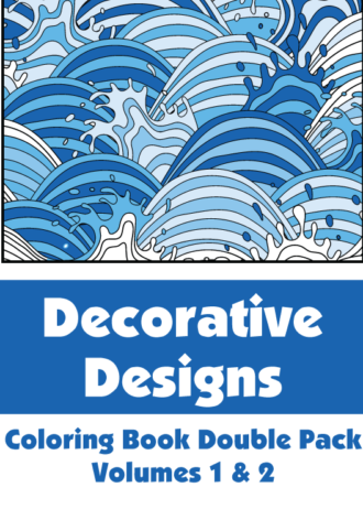 Decorative Designs Double Pack Volumes 1 2 Cover