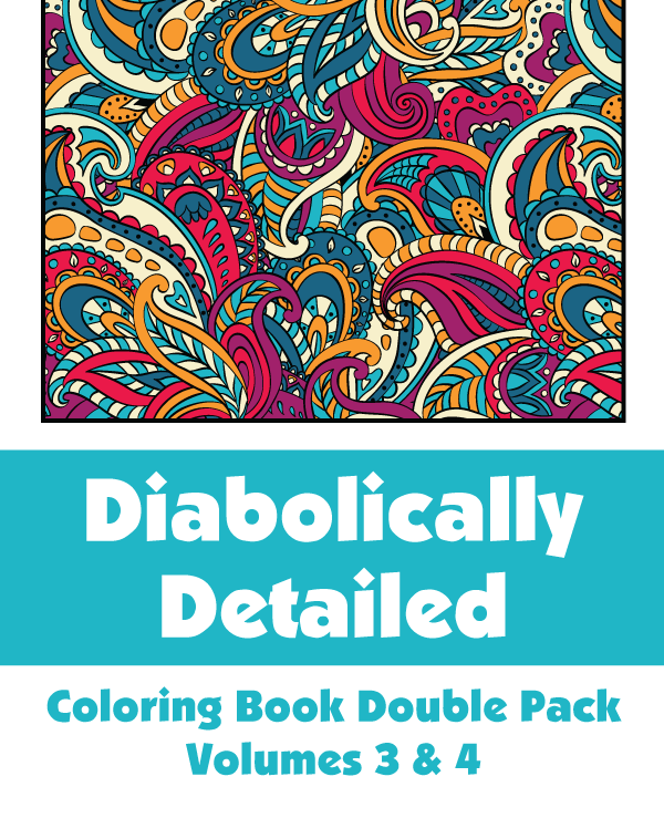 Diabolically Detailed Double Pack Volumes 3 & 4 Cover