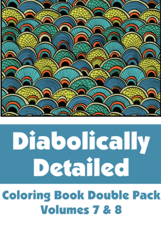 Diabolically Detailed Double Pack Volumes 7 & 8 Cover