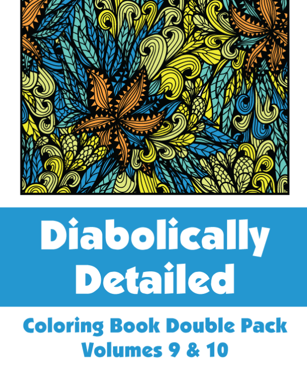 Diabolically Detailed Double Pack Volumes 9 & 10 Cover