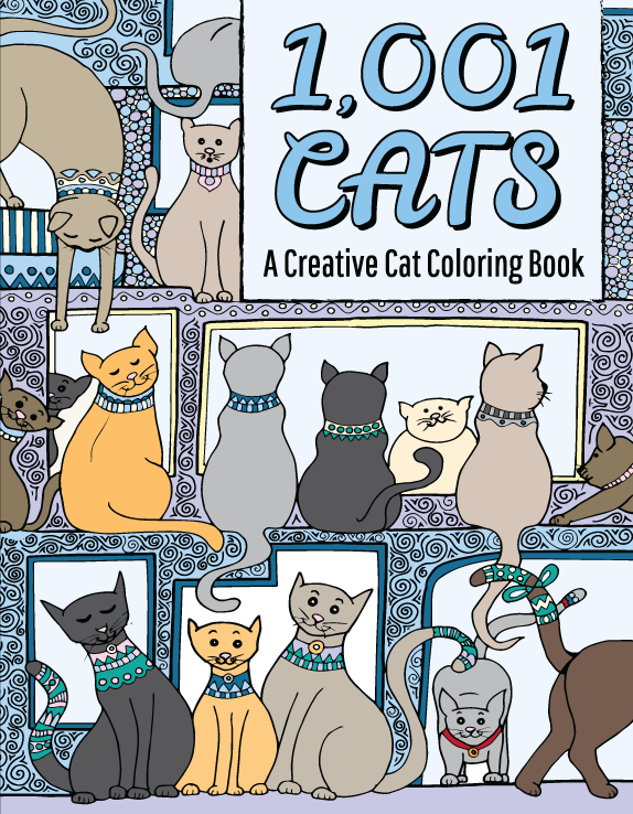 1001 Cats Cover