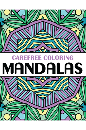 Carefree Coloring Mandalas Home
