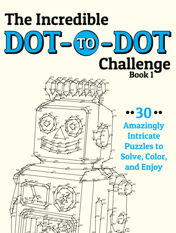 Incredible Dot-to-Dot Cover
