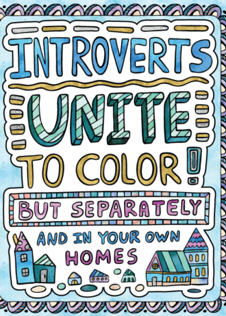 Introverts Unite Cover