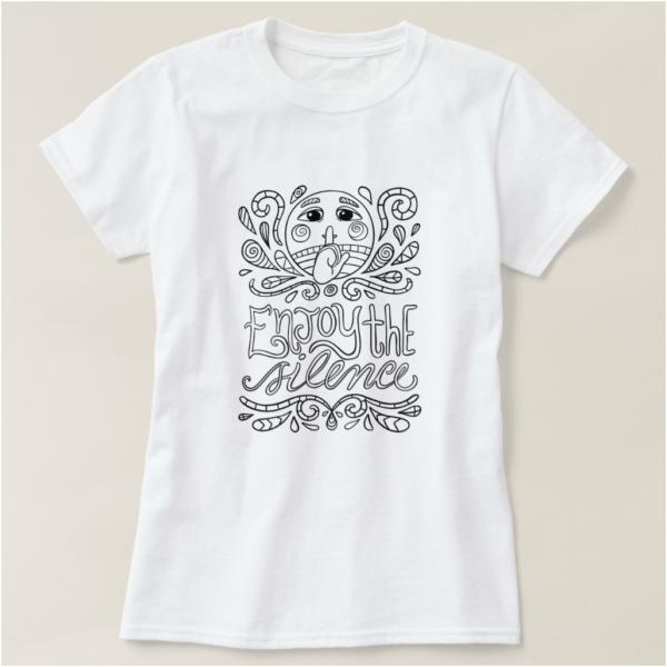 Enjoy the Silence Introvert T-Shirt