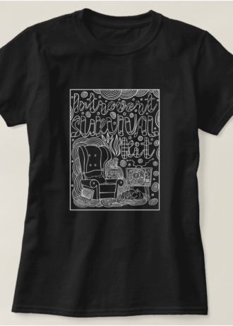 Introvert Survival Kit T-Shirt